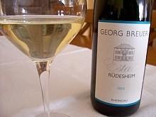 Georg Breuer Rüdesheim Estate Riesling 2005
