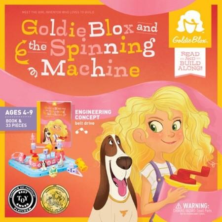 Goldie Blox diseña juguetes para que las niñas del futuro sean ingenieras