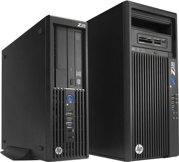 HP también se une a las estaciones de trabajo SFF con la Z230