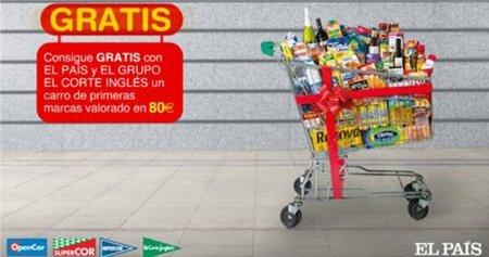 97160771b Un carro de la compra  gratis  con cupones de  El País