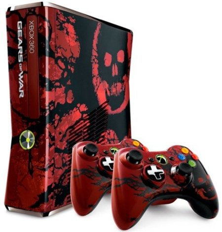 Xbox 360 edición limitada Gears of War 3