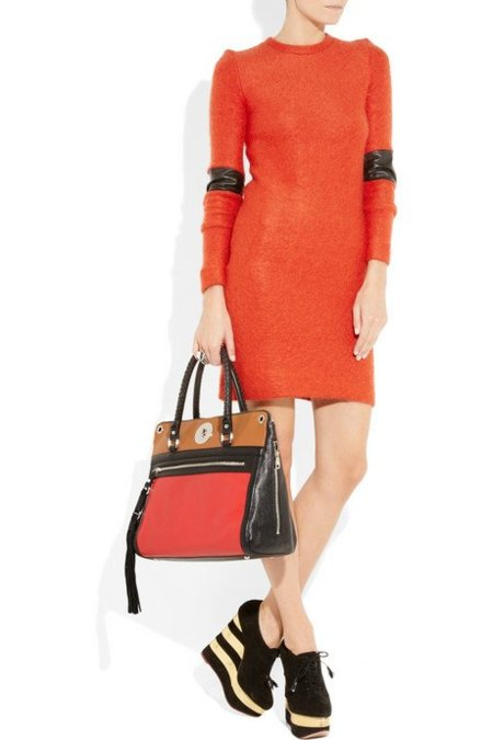 bolso dkny color block