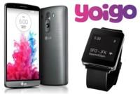 Precios LG G3 con Yoigo: también trae LG G Watch incluido