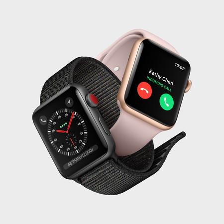 Apple Watch Series 3 llega con teléfono a bordo y completa independencia del iPhone