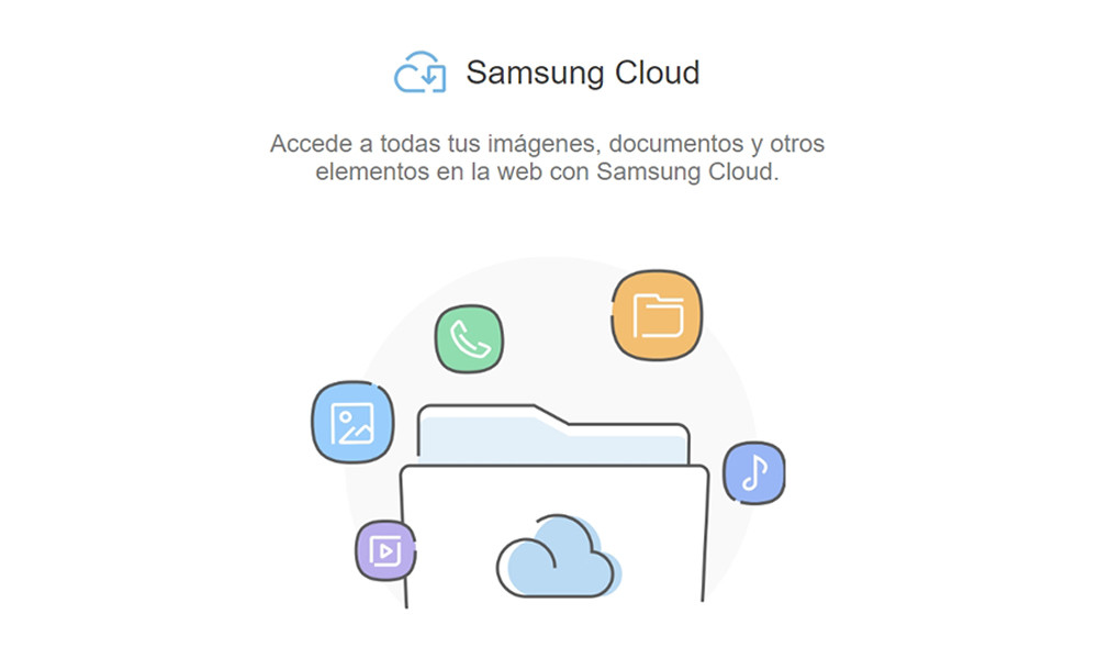 Samsung Cloud already allows you to access your files from the browser, so it works