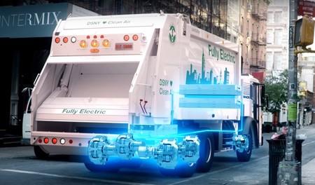 Camion Basura Electrico