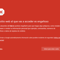 Google bloquea Kickass Torrent, y Chrome y Firefox lo consideran 'un sitio web engañoso'