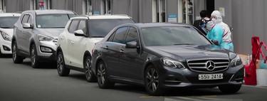 Pruebas del coronavirus como quien va al McDonald's: cuando la cultura de vivir en el coche resulta más seguro que ir al hospital