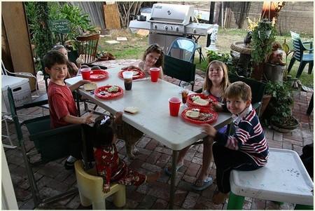 Buenas prácticas en la alimentación de niños en edad escolar