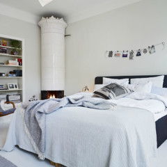 Foto 4 de 4 de la galería espacios-que-inspiran-un-dormitorio-en-blanco-y-azul-marino en Decoesfera
