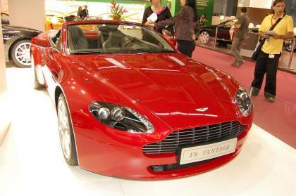 Aston Martin en el Salón de Barcelona