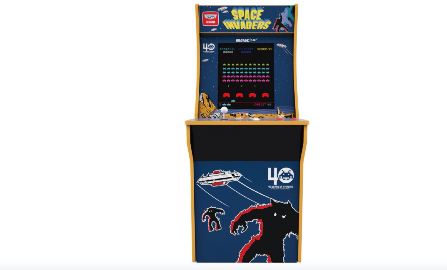Consola Arcade - Space Invaders