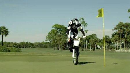 Golf y Motocross, una mezcla imposible ¿O no?