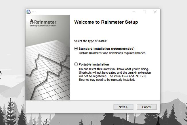 Rainmeter Instalacion
