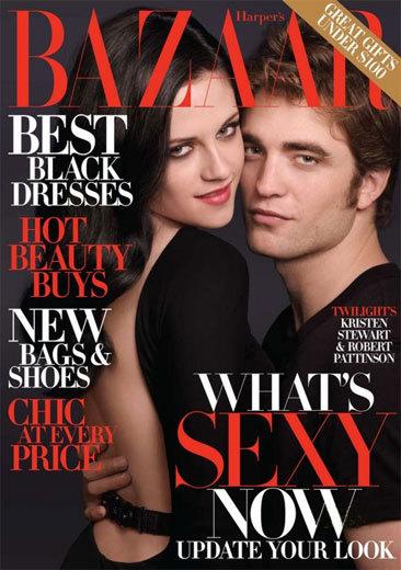 Robert Pattinson y Kristen Stewart, la pareja de moda en Harper's Bazaar