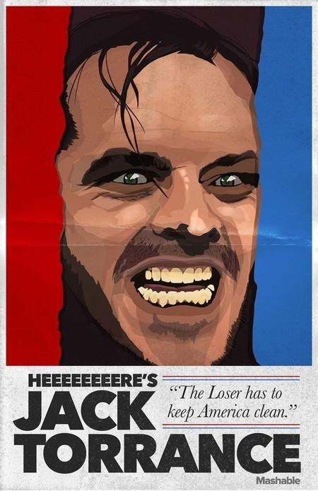 Horror Pres Posters Jack Torrance