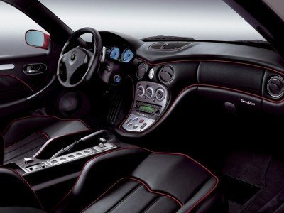 Interior del Maserati gransport contemporary classic