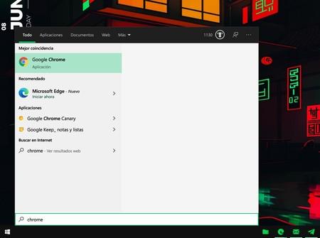 """Windows 10 ahora muestra publicidad de Microsoft Edge en el menú inicio cuando buscas """"Chrome"""""""
