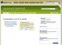 Listphile: creación de listas, bases de datos y altlas de forma colaborativa