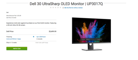 Dell Ultrasharp Up3017q 2