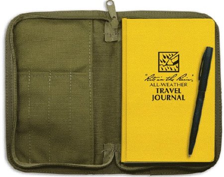 Salva tus diarios de viaje: libreta impermeable
