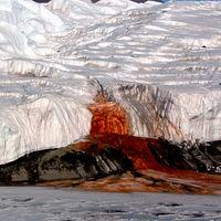 Blood Falls: el extraño fenómeno por el que la Antártida vomita cataratas de sangre