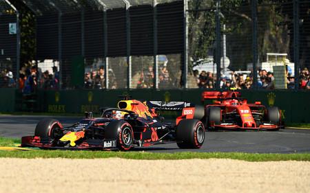 Verstappen Leclerc Australia F1 2019