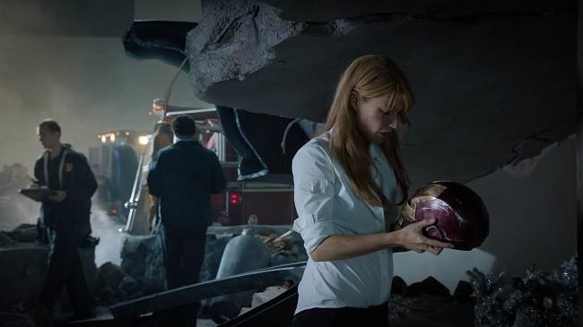 Una escena dramática de 'Iron Man 3'