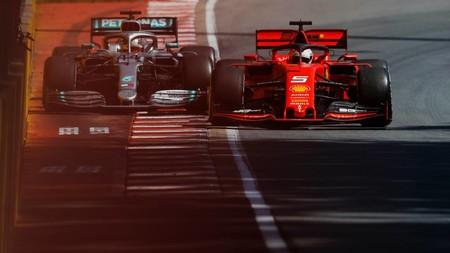 Vettel Hamilton Canada F1 2019