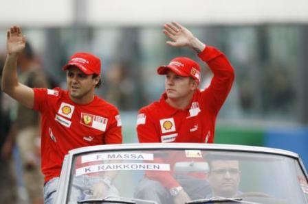 Montezemolo confirma a Raikkonen y Massa para 2009