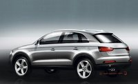 Audi Q3, primer boceto que sale a la luz