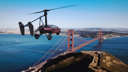Pal V Liberty Three Wheel Flying Car Reservations 3