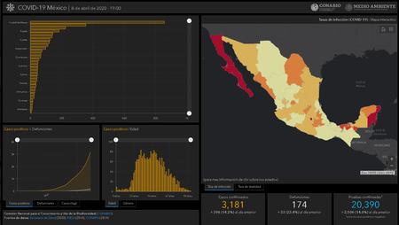 Mapa Interactivo Oficial Covid 19 Mexico