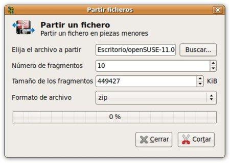 Dividir y unir archivos en GNU/Linux
