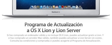 Programa de actualización a OS X Lion y Lion Server