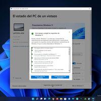 Ya puedes descargar PC Health Check para comprobar si tu equipo es compatible con Windows 11