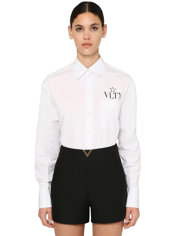 Camisa masculina con logo de Valentino