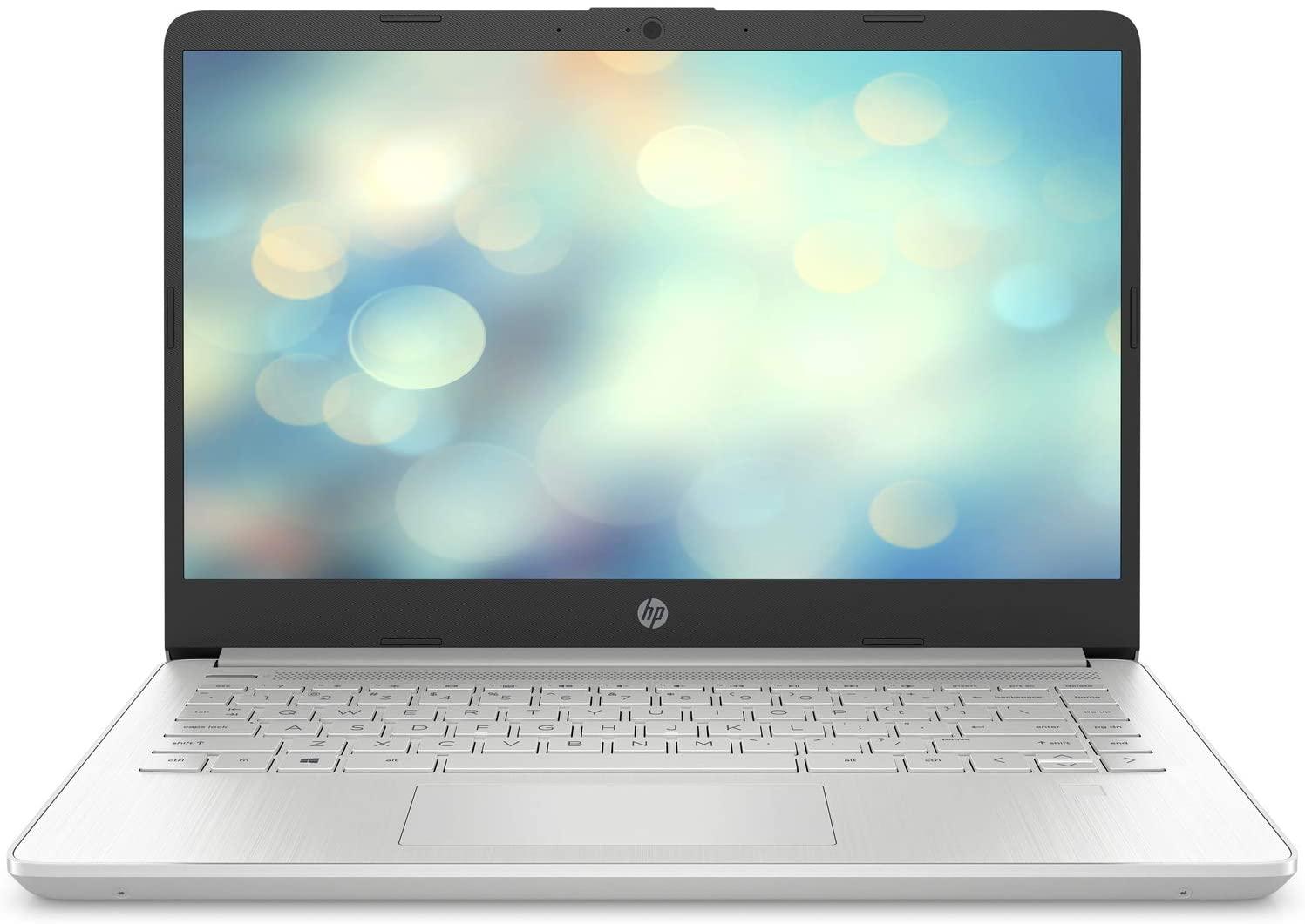 "HP 14s-dq1014ns - Ordenador portátil de 14"" FullHD (Intel Core i7-1065G7, 8GB RAM, 512GB SSD, tarjeta gráfica integrada, sin Sistema operativo) gris - Teclado QWERTY Español"