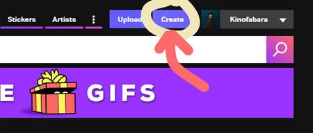 convertir videos a gif en giphy