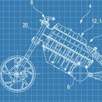 BMW patenta una moto eléctrica que utilizaría la caja de la batería como chasis, al igual que el C-Evolution
