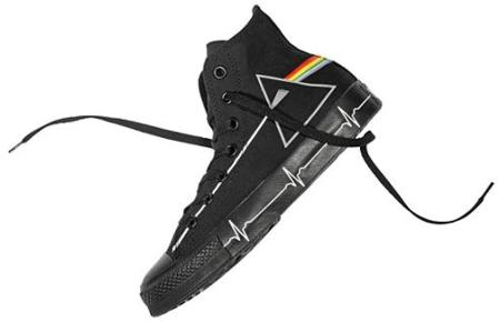Zapatillas Converse de Pink Floyd