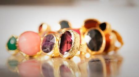 Beroque, los anillos XXL de inspiración italiana