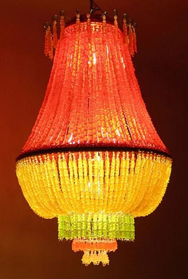 Lámpara de ositos de goma