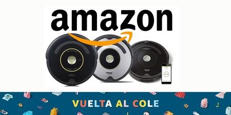 9 robots aspiradores rebajados hoy en Amazon para la Vuelta al Cole