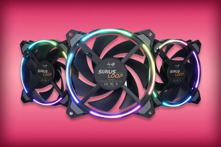 Paquete con tres ventiladores InWin de oferta en Amazon México: 120 mm e iluminación RGB por 499 pesos