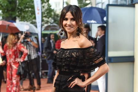 Goya Toledo se convierte en la mejor y única bien vestida en la clausura del Festival de Vitoria 2018