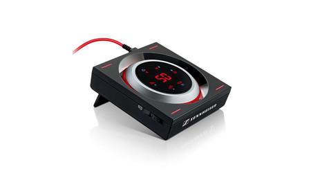 Este llamativo amplificador portátil de Sennheiser está pensado para mejorar el sonido de tus videojuegos