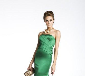 Carolina Herrera: vestidos para bodas de tarde Primavera-Verano 2010