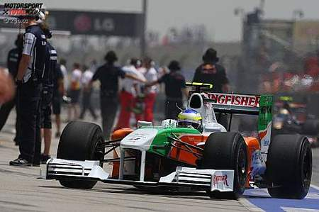 Force India estrenará paquete aerodinámico