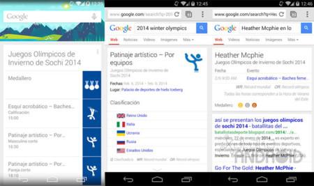 Google Now Sochi 2014